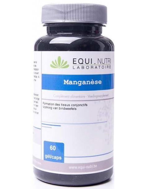 Manganese 60 gelules 10mg Equi - Nutri