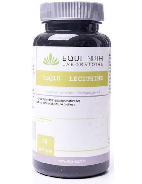 Coenzyme Q10 et Lecithine  30 gelules Equi - Nutri