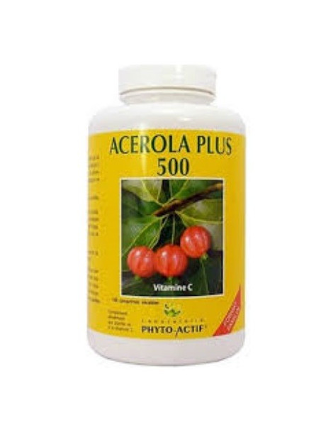 Acerola Plus 500 FAM 100 comprimés Phyto-actif