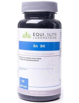 Zinc vitamine B6  60 gelules Equi - Nutri