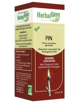 Pin bio 50ml Gemmobase Herbalgem
