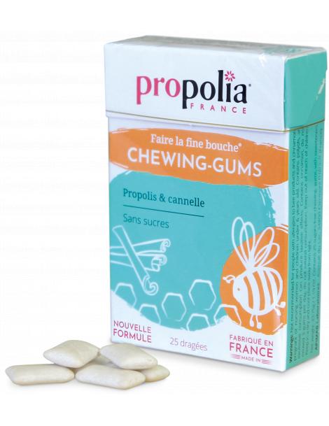Chewing-Gum Propolis & Cannelle 27 gommes Propolia - A l'unite