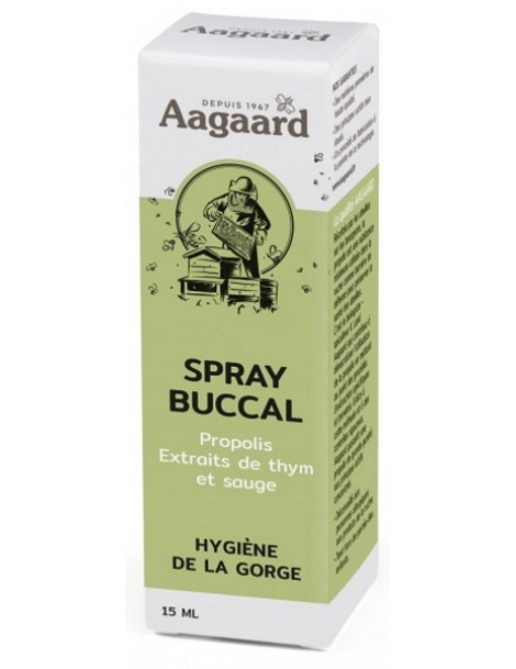 Spray buccal a la propolis - Aagaard  15ml