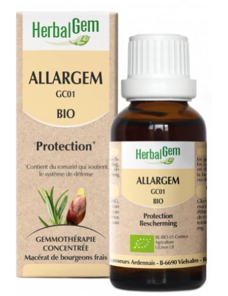 Allargem Bio - 50 ml - Gemmobase Herbalgem