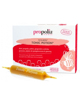 Tonic'Potion 10 ampoules de 10ml Propolia