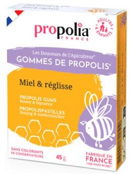 Gommes de Propolis - Reglisse  45g Propolia
