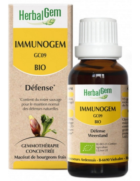 Immunogem Bio  50ml Gemmobase Herbalgem