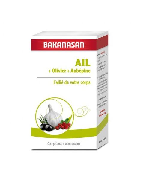 Ail Olivier et Aubepine - 72 capsules  Bakanasan