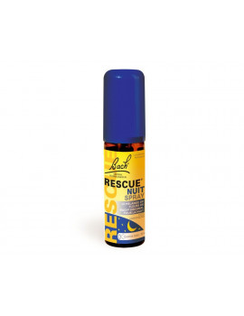 Rescue Spray Nuit 20ml Bach Flower Remedies