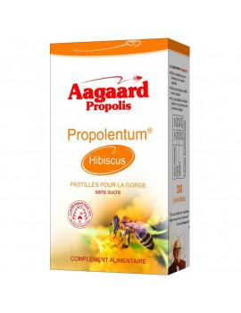 Propolentum Hibiscus 30 pastilles Aagaard