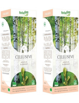 Celluseve Bio lot de 2 flacons de 250ml Herbalgem