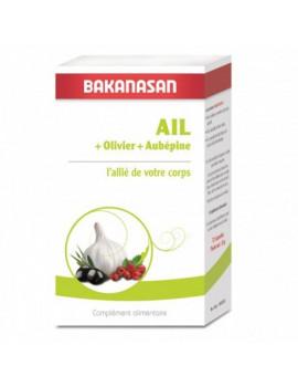 Ail Olivier et Aubepine - 210 capsules - Bakanasan