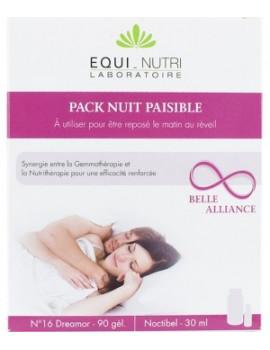 Duo Nuit Paisible 60 gelules et 30ml Equi Nutri