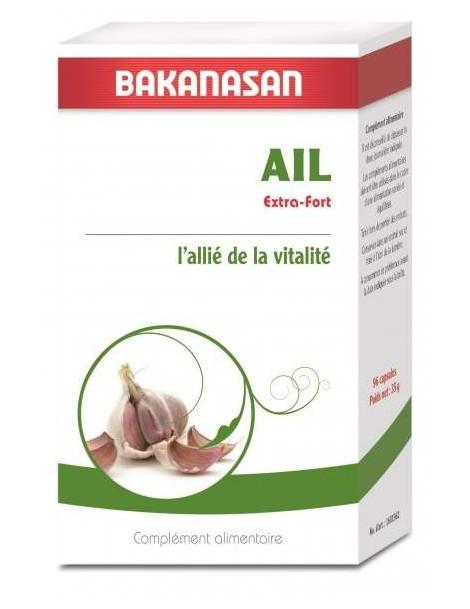 Bakanasan - Ail Extra Fort - 96 capsules ami du coeur abcbeauté
