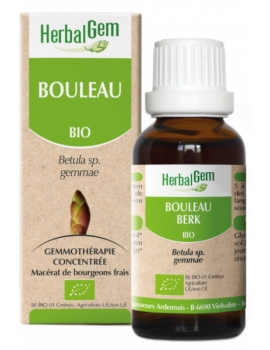 Bouleau bio 50ml Gemmobase Herbalgem