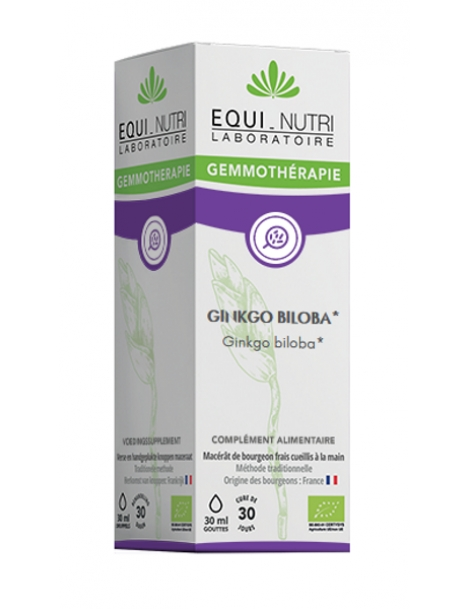 Ginkgo Biloba bio 30ml Equi - Nutri