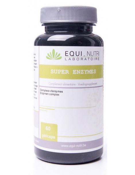Super Enzymes + 60 gelules Equi - Nutri