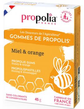 Gommes de Propolis - Orange  45g Propolia