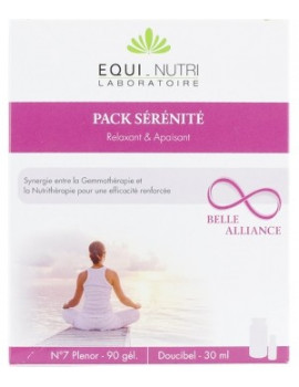 Pack Serenite 60 gelules 30ml Equi - Nutri