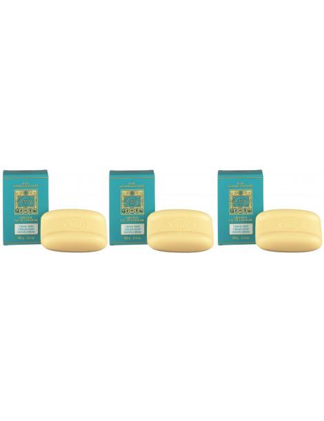 Savon Creme Lot de 3 savons de 100g 4711