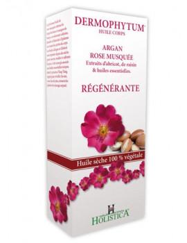 Huile de corps Dermophytum Argan Rose 125ml Holistica