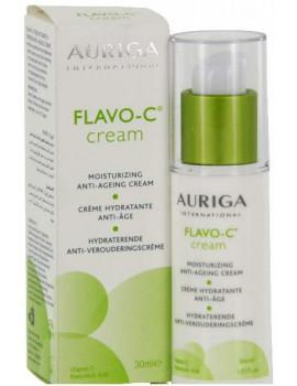 Flavo-C Creme hydratante anti-âge Flacon Pompe 30ml Auriga