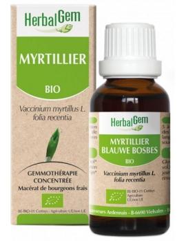 Myrtillier bio 50ml Gemmobase Herbalgem