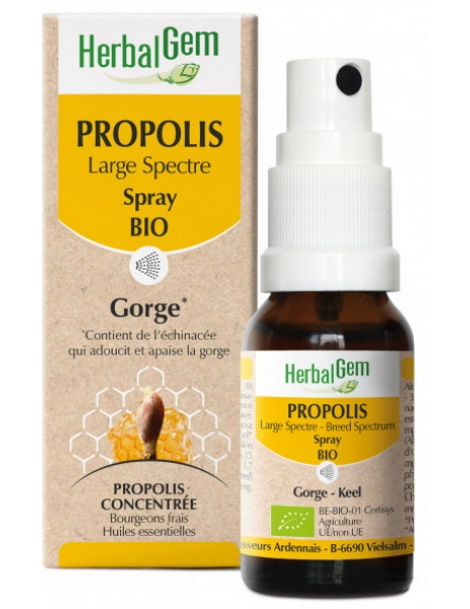 Propolis Large spectre Spray 15ml Herbalgem