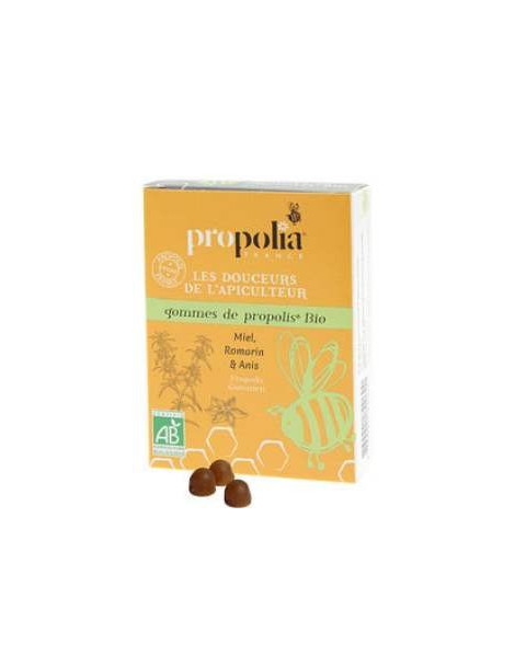 Gommes de Propolis Romarin bio 45g Propolia