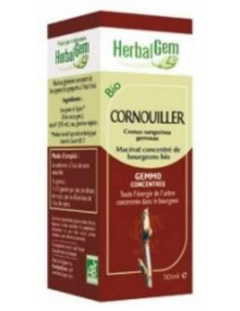 Cornouiller bio 50ml Gemmobase Herbalgem
