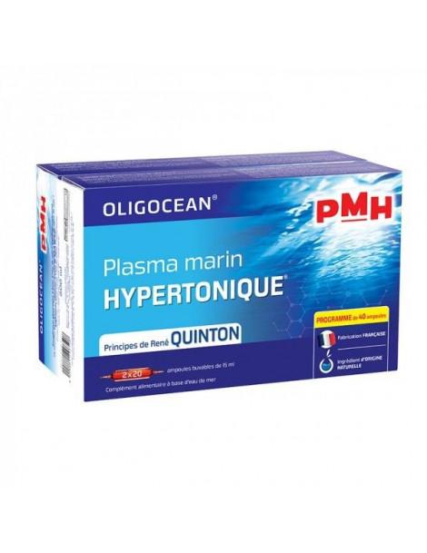 PMH Plasma Marin Hypertonique coffret 2x20 ampoules Super Diet