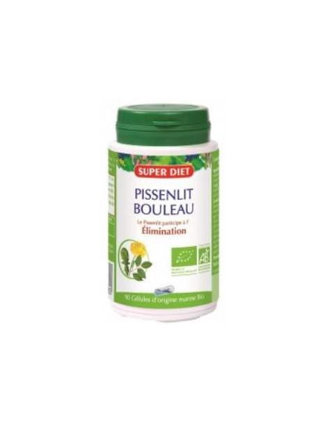 Pissenlit Bouleau 90 gelules 210mg Super Diet