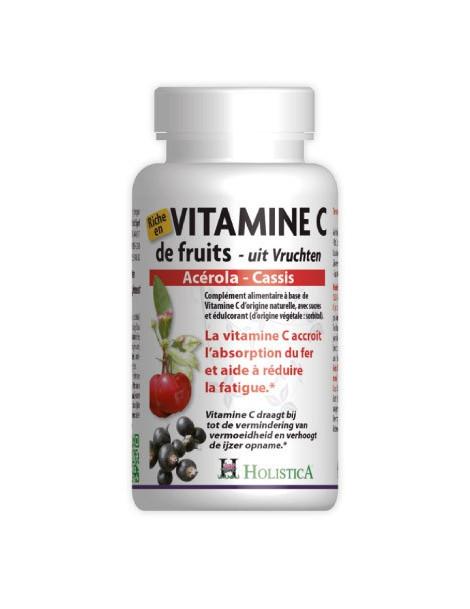 Vitamine C de Fruits 60 comprimes Holistica