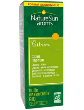 Citron bio 30ml NatureSun'arôms