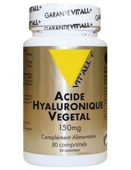 Acide Hyaluronique Vegetal silice vitamine C 30 comprimes Vit'all +