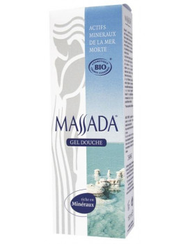 Gel Douche sel de la mer morte 150ml Massada