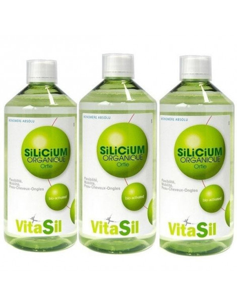 Silicium Organique Pack Promo  3 x 500ml VitaSil