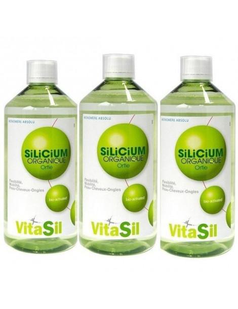 Silicium Organique Pack Promo 3 x 500 ml - Vitasil DexSil Labs articulations Abcbeauté
