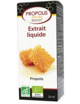 Extrait liquide de Propolis bio Flacon compte-gouttes 20ml Redon
