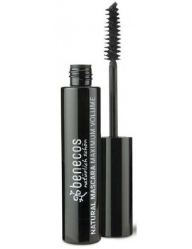 Mascara Maxi Volume - Noir profond deep black  8ml Benecos maquillage bio
