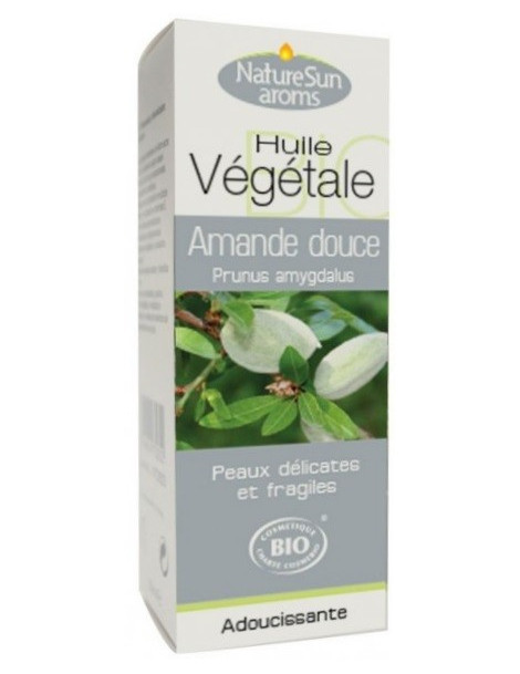 Huile d'Amande douce bio 50ml Natursun' aroms