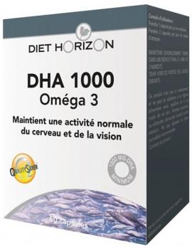 DHA 1000 Omega 3 60 capsules Diet Horizon