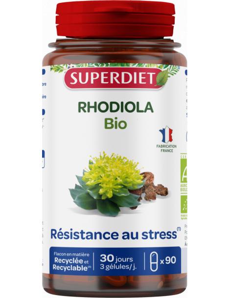 Rhodiola bio 90 gelules Super Diet