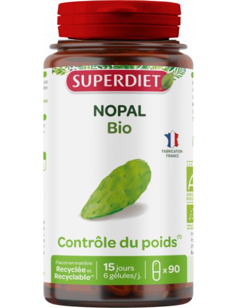 Nopal bio 90 gelules Super Diet