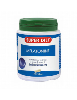 Melatonine 120 gelules Super Diet