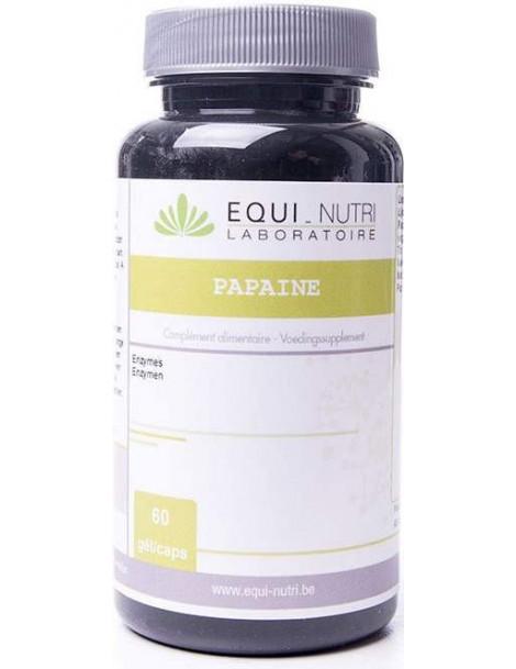 Papaïne 60 gelules vegetales Equi - Nutri