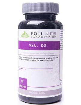 D3 + Lithothamne  300 U.I. 90 gelules Equi - Nutri