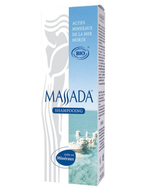 Shampooing au sel de la mer morte Tube 150ml Massada