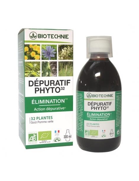 Depuratif Phyto 32 bio 300ml Biotechnie