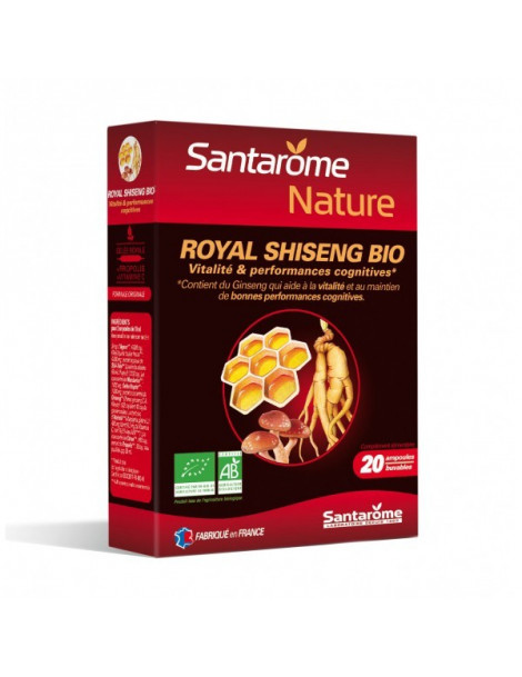 Royal Shiseng bio 20 ampoules Santarome
